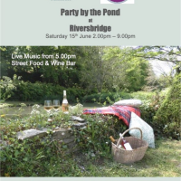 Party by the Pond at Riversbridge Saturday 15th June