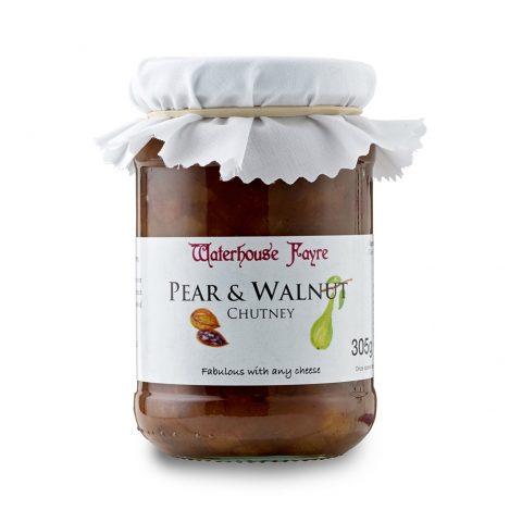 Pear & Walnut Chutney