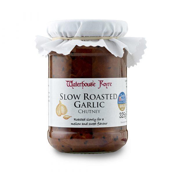 Slow Roasted Garlic Chutney