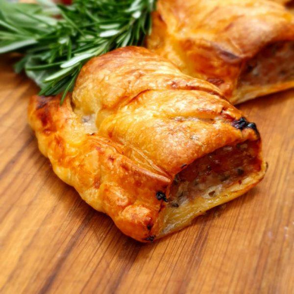 Pork and Apple Sausage Roll