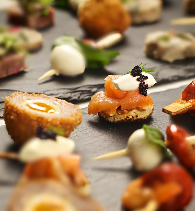Dartmouth Fine Foods - Canape Parties
