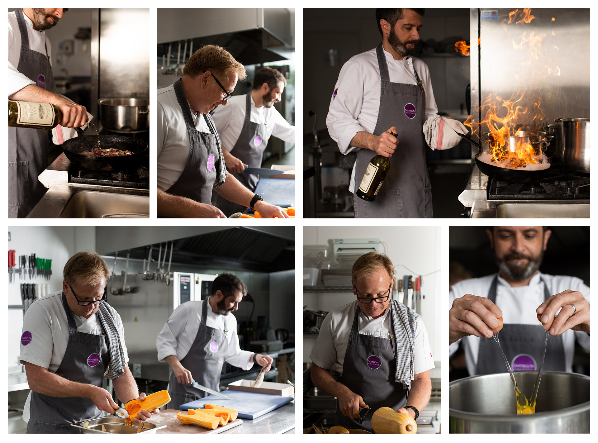 Dartmouth fine foods and Devonishly good - our chefs