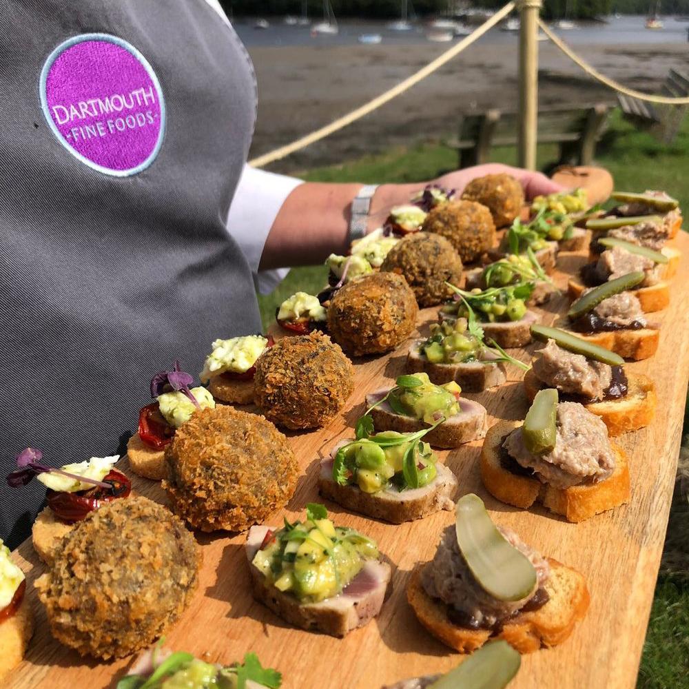 Dartmouth Fine Foods Event Catering Devon Uk