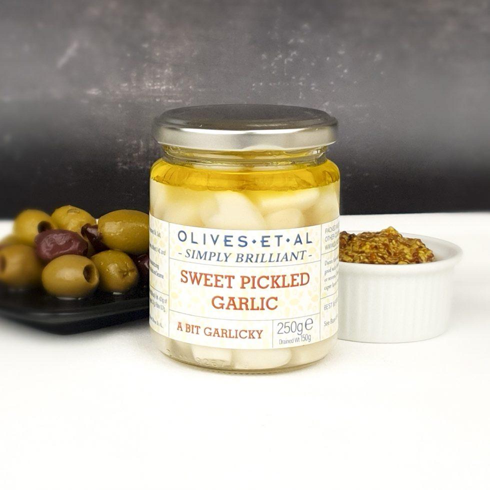 Sweet Pickled Garlic